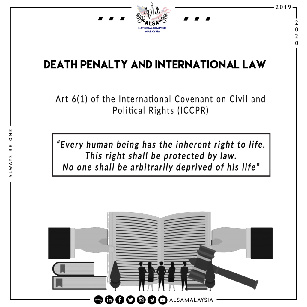 Death Penalty and International Law